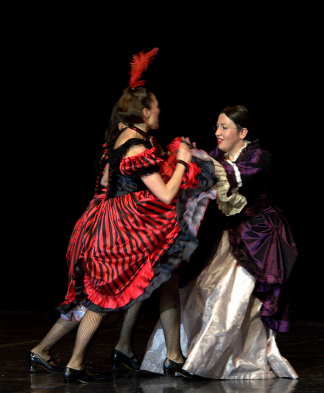 Marie Curie et French cancan