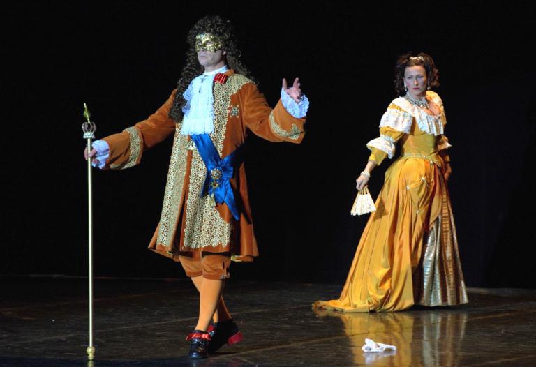 Louis XIV et Ninon de Lenclos
