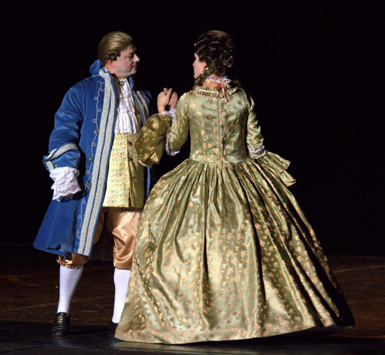 Louis XV et Mme De Pompadour