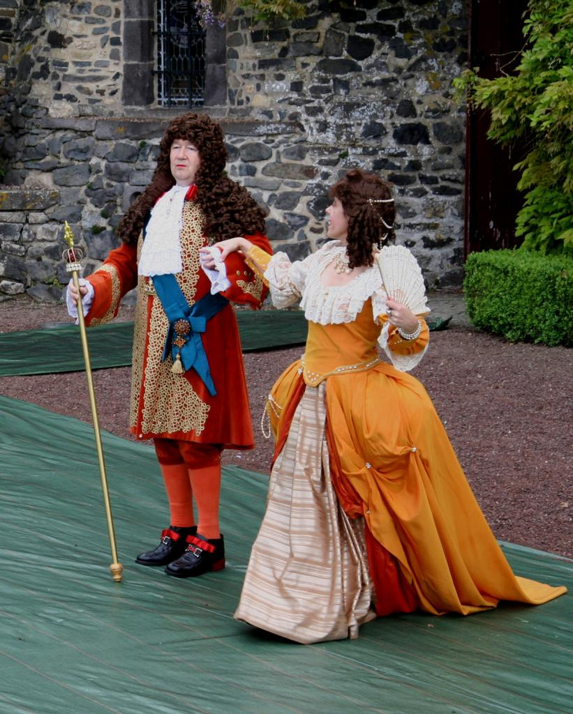 Ninon de Lenclos et Louis XIV