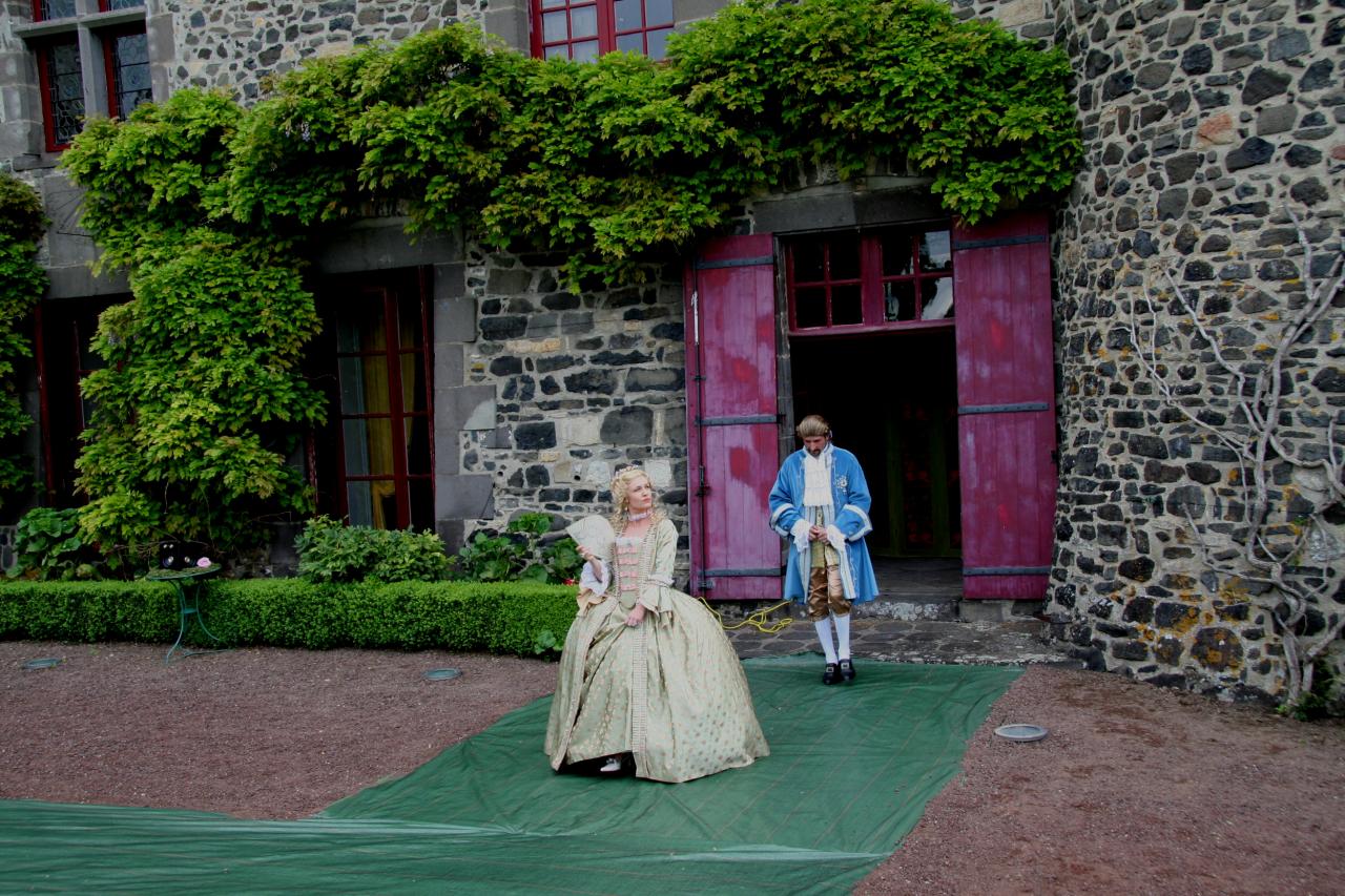 Mme de Pompadour et Louis XV