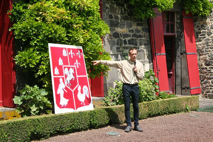 Château d'Opme 4 juin 2017
